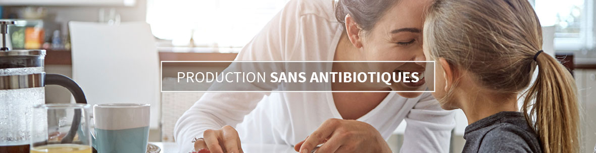 Production sans antibiotiques